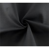 *3 YD PC--Black Stretch Poplin Suiting