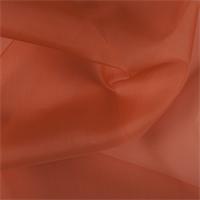 *1 YD PC--Orange Silk Organza