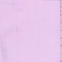 Pink Stripe Oxford Cotton Shirting