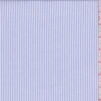 Blue Stripe Oxford Cotton Shirting