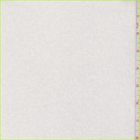*2 YD PC--Alabaster White Sweater Knit