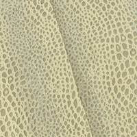 Beige/Metallic Silver Sparkle Leopard Jacquard Decor Fabric