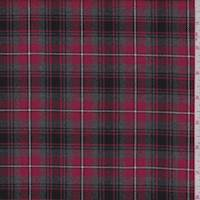 Red/Grey Plaid Flannel