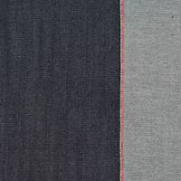 *2 3/4 YD PC--Deep Shadow Blue Japanese Selvedge Denim Twill