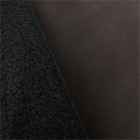 *1 7/8 YD PC--Brown/Black Stretch Soft Shell Fleece