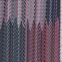 Multi Zig Zag ITY Jersey Knit