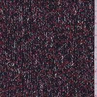 Black/Ruby Boucle Jacketing
