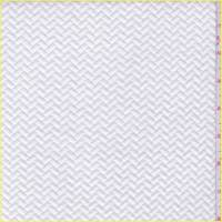 Whisper White Quilted Chevron Knit