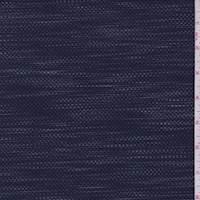 Navy/Grey Streak Pique Knit