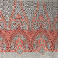 *3 PANELS--Copper Medallion Jacquard Knit