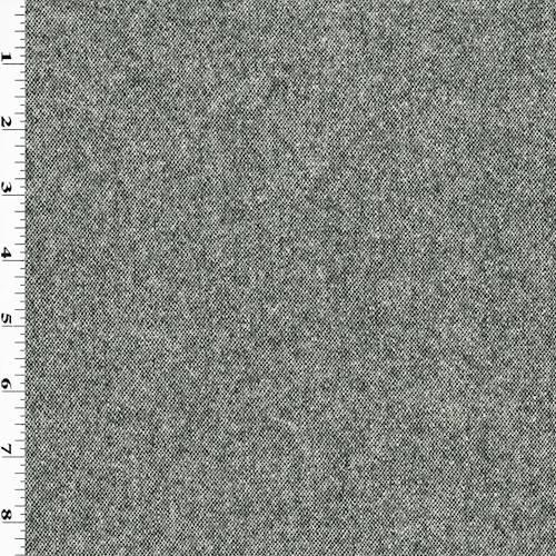 Black/White Brush Wool Texture Jacketing - 76789 | Fashion ...