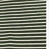 Olive Stripe Textured Liverpool Knit