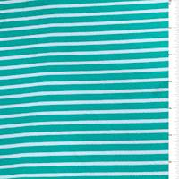 Sea Green Stripe Textured Liverpool Knit