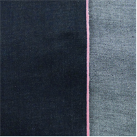 *3 YD PC--Deep Midnight Blue Cotton Slub Japanese Selvedge Denim