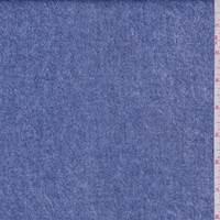 *2 5/8 YD PC--Blue Denim Print Scuba Knit