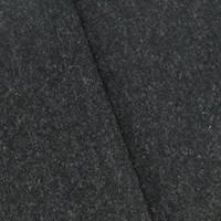 *3 YD PC--Black/Gray Texture Brush Wool Blend Woven Jacketing