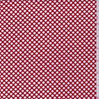 *3 YD PC--Red Fishnet Mesh