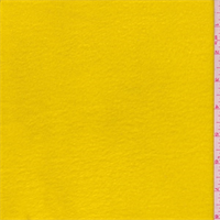 *4 1/4 YD PC--Yellow Gold Polyester Fleece