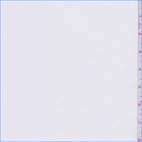 *1 3/8 YD PC--Ivory Rayon French Terry Knit