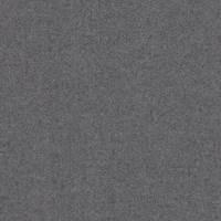 *4 1/8 YD PC--Heather Grey Wool Flannel Twill