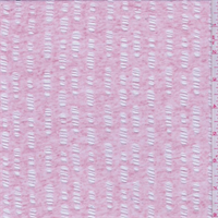 *1 YD PC--Heather Pink Burnout Jersey Knit