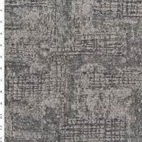 Taupe/Deep Gray Texture Geometric Jacquard Decor Fabric