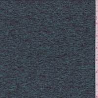 *2 1/2 YD PC--Space Dye Teal Brushed Activewear
