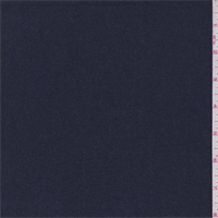 *1 3/4 YD PC--Indigo Wool Flannel Jacketing