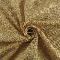 *1 YD PC--Golden Beige Rayon/Linen Boucle Netting