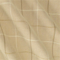 *1 YD PC--Beige Multi Herringbone Plaid Home Decorating Fabric
