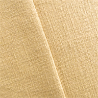 *2 YD PC--Flaxen Beige Cotton Basket Weave Home Decorating Fabric