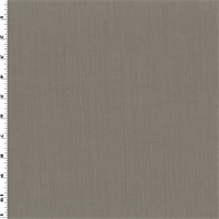 *2 YD PC--Taupe Wool Blend Gabardine