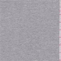 *1 1/8 YD PC--Heather Grey Cotton Knit