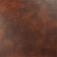 *1 1/2 YD PC - Mahogany Brown Faux Leather