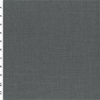 *3 YD PC--Gray Wool/Silk Gabardine
