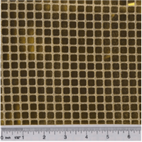 *4 3/4 YD PC--Gold Square Sequin