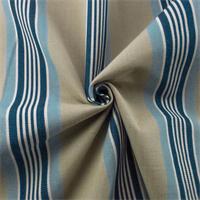 *4 YD PC - Grey/Blue Cotton Stripe Canvas Home Decorating Fabric