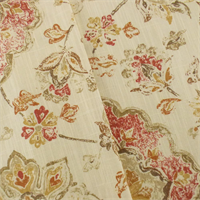 *9 YD PC--Ivory/Multi P Kaufmann Floral Print Home Decorating Fabric