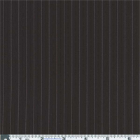 *3 YD PC--Black/Pink Stripe Suiting