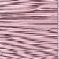 *5 YD PC--Champagne Pink Pleated Charmeuse