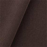 *1 1/2 YD PC--Sangria Brown Double Weave Crepe Suiting