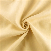 *7 YD PC - Cream Linen Home Decorating Fabric