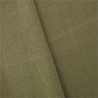 *2 1/2 YD PC - Dark Olive Green Linen Home Decorating Fabric