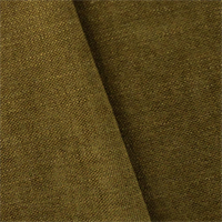 *1 YD PC - Mustard Brown Richloom Avignon Chenille Home Decorating Fabric