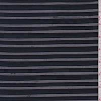 Deep Blue Mesh Stripe Activewear