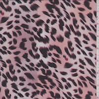 Blush Leopard Print Georgette