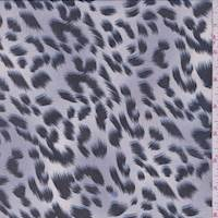 Lavender Mist Leopard Print Georgette