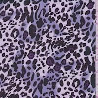 Lilac Animal Print Georgette