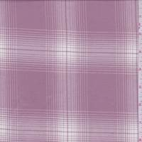 *5 3/4 YD PC--Rose Pink Plaid Flannel