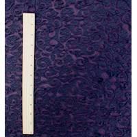 *3 5/8 YD PC--Purple Swirl Novelty Matte Jersey Knit